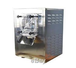 TECHTONGDA Hard Ice Cream Machine 110V Commercial Frozen Ice Cream Maker Mixer