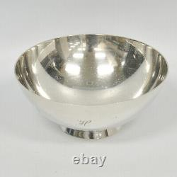 Tiffany & Co. Sterling Silver Makers 22674 M Small Ice Cream 4-1/2 Bowl Dish