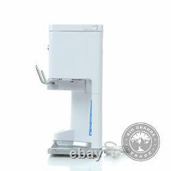 USED Cuisinart ICE-45P1 Mix Serve Soft Service Ice Cream Maker in White 1.5 QT