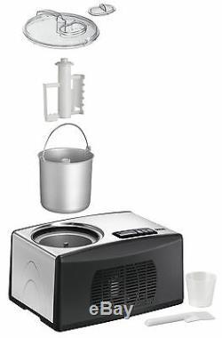 Unold 48806 Cortina EISMASCHINE Eiscrememaschine Eisbereiter Eismaker Kompressor