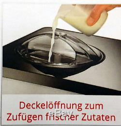 Unold Eismaschine Gusto 48845, Kompressor Eiscrememaschine, Eisbereiter, Icemaker