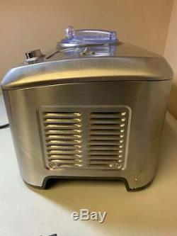 Used Breville BCI600XL Smart Scoop Ice Cream Maker