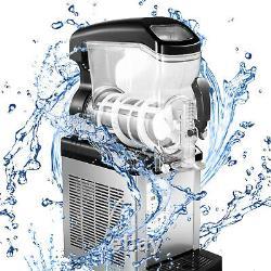 VEVOR Commercial 6L Frozen Drink Slush Making Machine Smoothie Ice Maker 1.6Gal