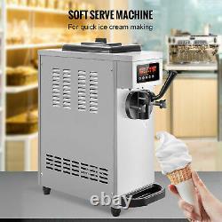 VEVOR Commercial Countertop Frozen Soft Serve Ice Cream Maker free ship