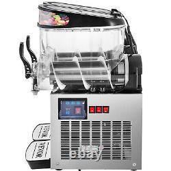 VEVOR Commercial Slush Machine Frozen Drink 12L/24L/36L Juice Beverage Ice Maker