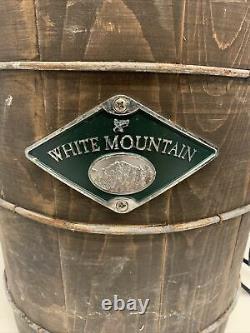 VGC 6 Quart White Mountain Electric Ice Cream Maker Freezer