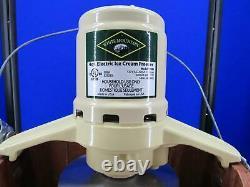 Vintage Electric White Mountain Ice Cream Maker 4 Quart Model 69204 Open Box