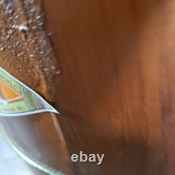 Vintage White Mountain Ice Cream Wooden Hand Crank Ice Cream Maker 6 QT &Booklet
