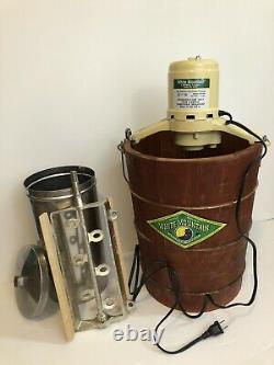 White Mountain 6 Qt. Electric Ice Cream Maker Freezer