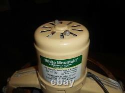 White Mountain 6 Qt F69206 Ice Cream Maker