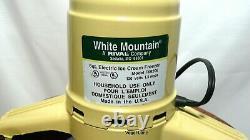 White Mountain Electric 6 QT Ice Cream Freezer Maker F69206