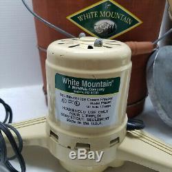 White Mountain Electric Ice Cream Freezer And Maker 6 Quart