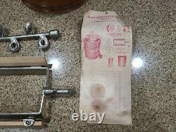 White Mountain Electric Ice Cream Maker Freezer 6 Quart Vintage Model 4E WORKS