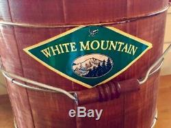 White Mountain F69206 Electric 6 QUART Ice Cream Maker Freezer. NEW IN BOX