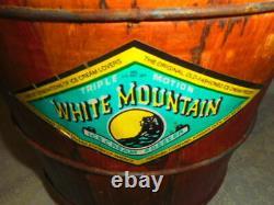 White Mountain Hand Crank Ice Cream Maker