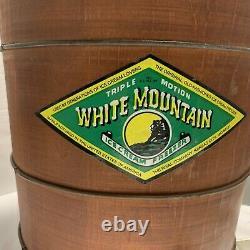 White Mountain Ice Cream Freezer/Maker 6 Quart