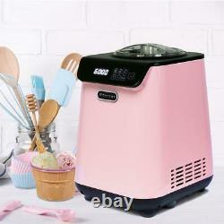Whynter Automatic Ice Cream Maker Stainless Steel Bowl Built-In Timer 1.28 Qt