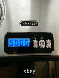 Whynter ICM-15LS Automatic Ice Cream Maker 1.6 Quart Capacity Stainless Steel