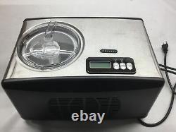 Whynter ICM-15LS Automatic Ice Cream Maker 1.6 Quart Capacity Stainless Steel, w