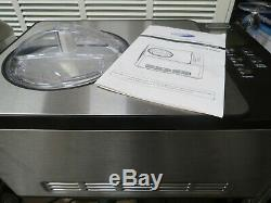 Whynter ICM-200LS Stainless Steel Ice Cream Maker 2.1-Quart NewithOpened/Tested