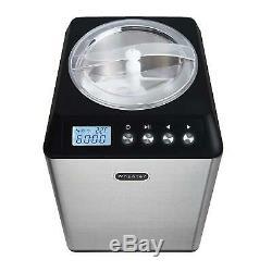 Whynter ICM-201SB 2.1 Quart Upright Stainless Steel Bowl Ice Cream Maker
