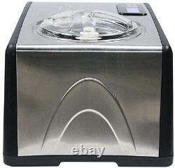Whynter Ice Cream Maker 1.6 Qt. Stainless Steel with Built-In Audible Timer