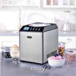 Whynter Ice Cream Maker Machine 2.1 Qt. Stainless Steel Bowl Upright Electric