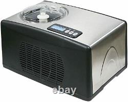 Whynter Stainless Steel Automatic Ice Cream Maker 1.6 Quart Capacity (ICM-15LS)