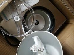 Whynter Stainless Steel Ice Cream Maker 2.1 Quart Silver